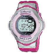 Casio Baby-G Women's Watch, Pink