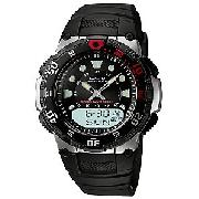 Casio Wave Ceptor Men's Watch, Black