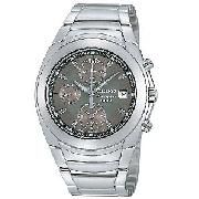 Seiko Chronographed Alarm Men's Watch