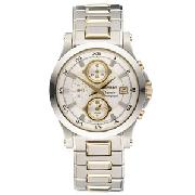Seiko Premier Chronograph Alarm Men's Watch, SNA586P1