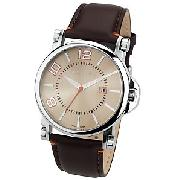 Ted Baker Men's Watch, Brown, TB263BR