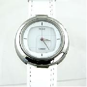 Casio Felite Rounded White Watch