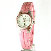 Casio Ladies Pink Analogue Watch