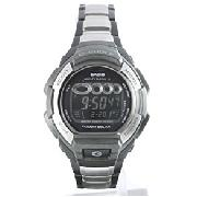 Casio Silver and Black G-Shock Watch