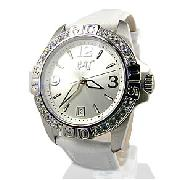 Caterpillar Silver Active One Crystal Watch