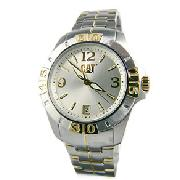 Caterpillar Silver Active One Watch