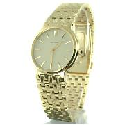 Citizen Gents Gold Tone Eco Drive Watch