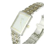 Citizen Gents Two Toned Stiletto Watch