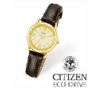 Citizen Ladies Gold Plated Eco-Drive Watch