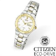 Citizen Ladies Two-Tone Stainless Steel Corso Watch