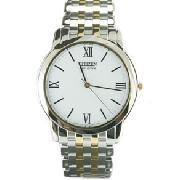 Citizen Two Tone Stiletto Gents Watch