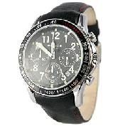 Police Fast Lane Black Chronograph Watch