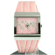 Police Pink Glamour World Watch