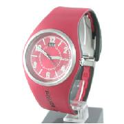 Police Red Hyperlink Watch