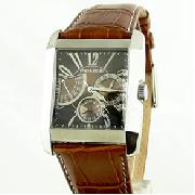 Police Side Avenue Leather Bracelet Watch