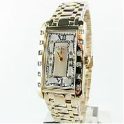 Rotary Gold Plated Rocks Watch