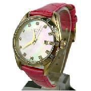 Rotary Rocks Gold and Pink Ladies Watch