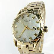 Rotary Rocks Ladies Gold Plated Watch