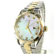 Rotary Rocks Ladies Two Tone Watch