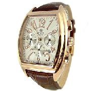 Royal London Gold Tone Chronograph Watch