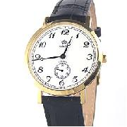 Royal London Gold Tone Slimline Watch