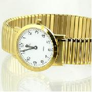 Royal London Ladies Slim Gold Tone Steel Watch