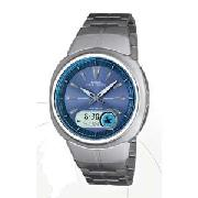 Casio Gents Wave Ceptor Combi Watch