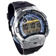 Casio Sports LCD Gents Watch