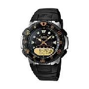 Casio Wave Ceptor Gents Combi Watch