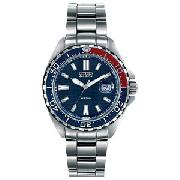 Citizen Gents Eco-Drive Stainless Steel Sports Watch