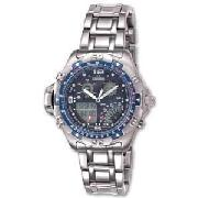 Citizen Gents Quartz Wingman Temp Watch