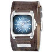 Kahuna Gents Leather Cuff Strap Watch