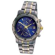 Sekonda Gents Titanium Chronograph Watch