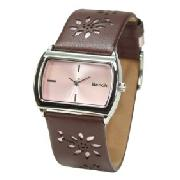 Bench BC0035BR Ladies Watch with Brown Strap