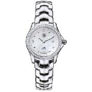 Tag Heuer Women's Diamonds Quartz Series Link Watch