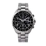 Police - Men's Black Chronograph Dial with Bracelet Watch