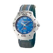 Kahuna - Men's Blue Patterned Dial with Blue Strap Watch