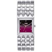 Storm - Women's Red Square Dial with Four Strand Bracelet Strap Watch