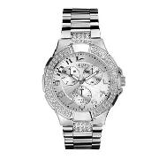 Guess by Marciano - Women's Round Crystal Dial and Polished Bracelet Watch