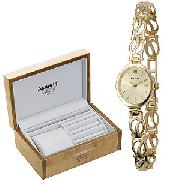 Accurist Ladies' 9ct Gold Watch