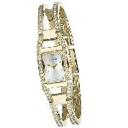 Anne Klein Ladies' Stone-Set Bangle Watch