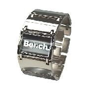 Bench Ladies' Rectangular Black Dial Bracelet Watch