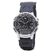 Casio Men's Lap Timer Digital/Analogue Combination Watch