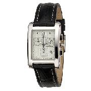 Citizen Men's Chronograph Watch with Leather Strap