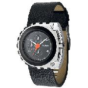 Diesel Men's Black Chronograph Watch