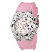 Ellesse Ladies' Pink Professional Diver Chronograph Watch