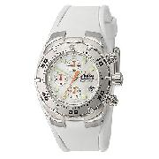 Ellesse Ladies' White Professional Diver Chronograph Watch