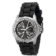 Guess Ladies' Stone-Set Watch