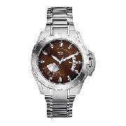 Guess Top-Notch Men's Stainless Steel Bracelet Watch