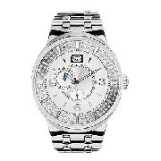 Marc Ecko Arena Men's Silver Dial Bracelet Watch